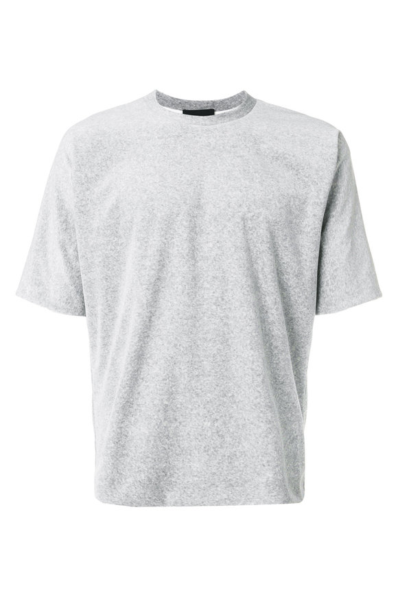 3.1 Phillip Lim Reversible Grey & White Vintage Fit T-Shirt