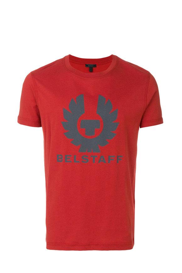 Belstaff Cranstone Lava Red Logo T-Shirt