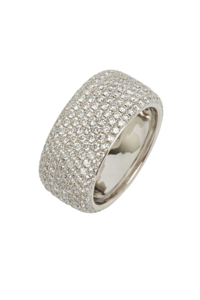 Kwiat - White Gold Moonlight Diamond Band