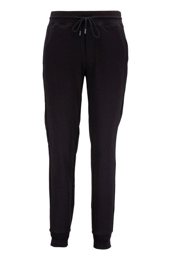 Moncler Solid Black Sweatpant
