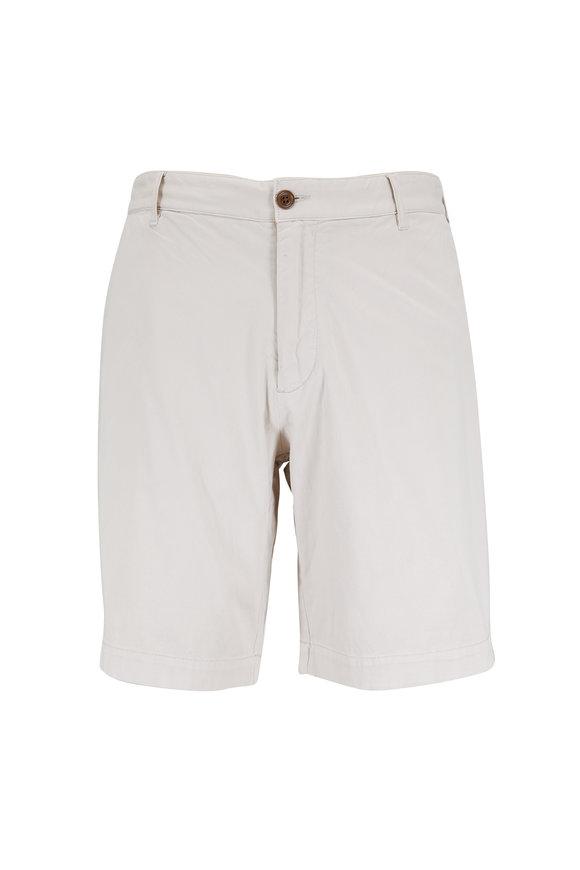 Faherty Brand Stone Stretch Cotton Shorts