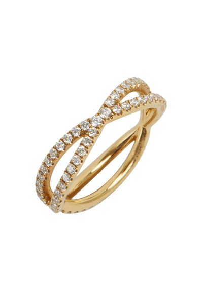 Kwiat - Yellow Gold Diamond Band