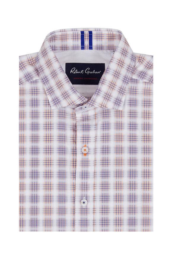 Robert Graham Lawson Multi-Plaid Tailored Fit Sport Shirt