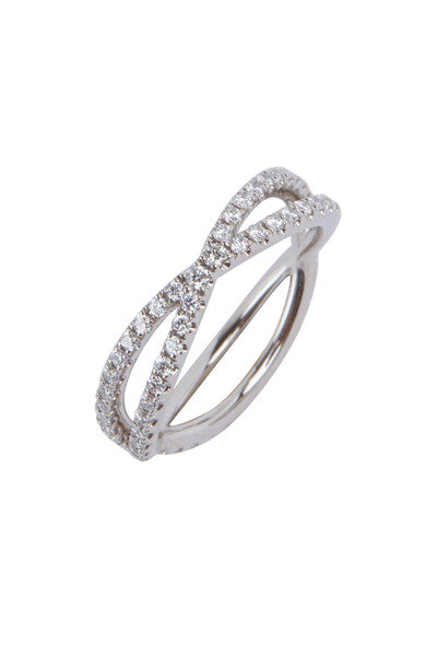 Kwiat - White Gold Diamond Band