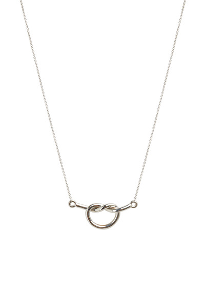 Kimberly McDonald - White Gold Love Knot Pendant