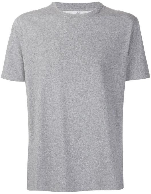 Brunello Cucinelli Gray Short Sleeve Crewneck T-Shirt