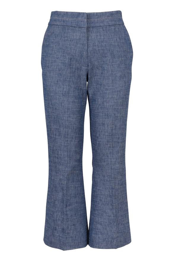 Partow Lucho Indigo Cotton & Linen Pant