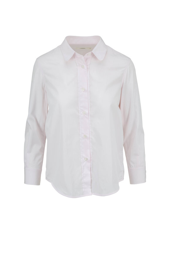 Lareida Richie Light Pink Cotton Button Down