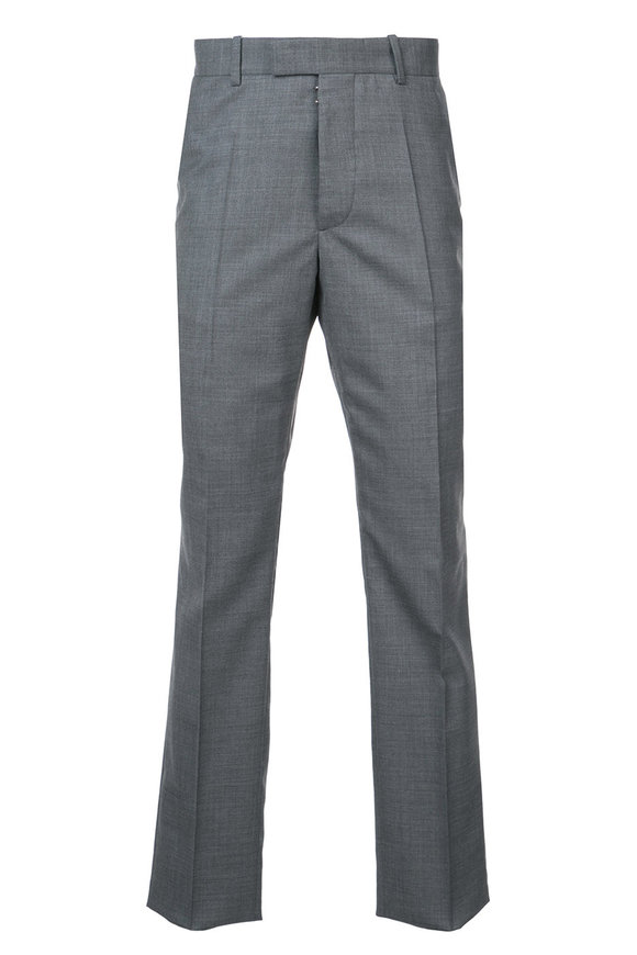 Maison Margiela Gray Wool Pant