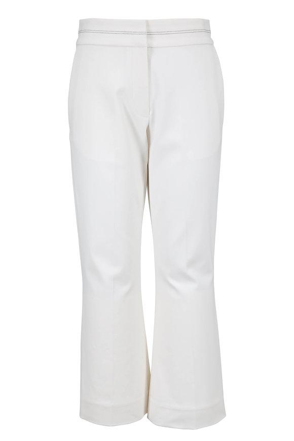 Partow Lucho Ivory Slim Pant