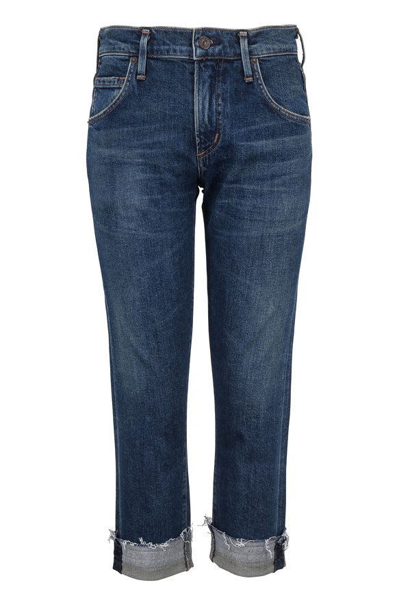 Citizens of Humanity Emerson Cuffed Slim Boyfriend Jean