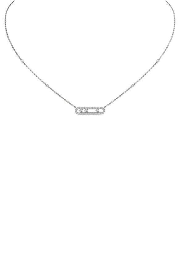 Messika Baby Move Pavè Pendant Necklace