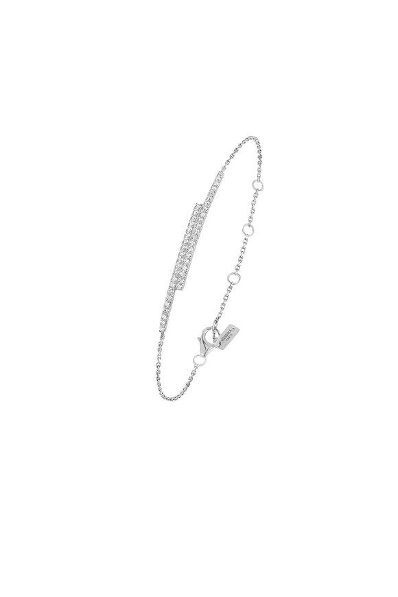 Messika 18K White Gold Gatsby Bracelet