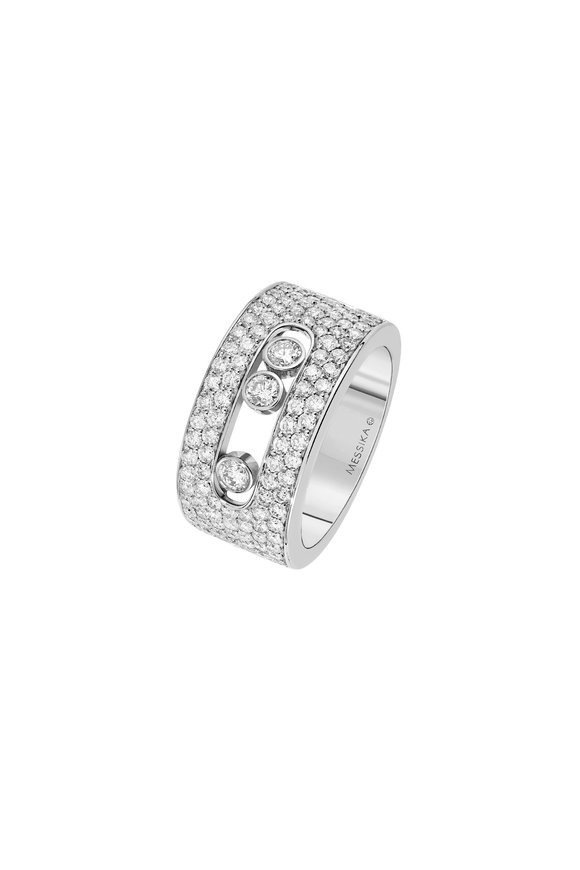 Messika 18K White Gold Diamond Ring