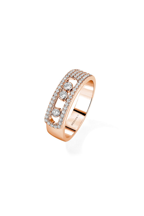 Messika 18K Gold Diamond Ring