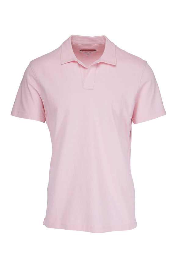 Orlebar Brown Light Pink Tailored Fit Polo