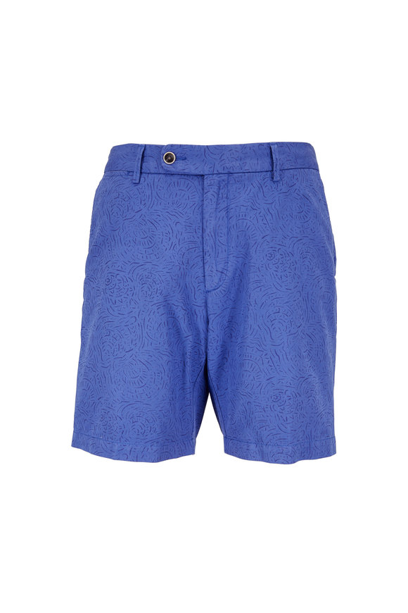 Peter Millar Blue Seaside Tidal Shorts