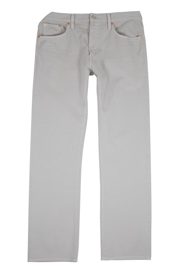 Citizens of Humanity Core Light Gray Slim Straight Jean