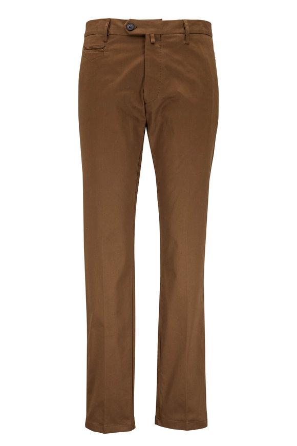 J.W. BRINE Johan Taupe Cotton Pant