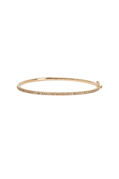 Kwiat - Pink Gold Brown Diamond Stack Line Bracelet