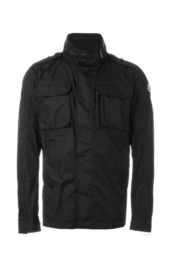 Moncler Jonathan Black Two Pocket Jacket
