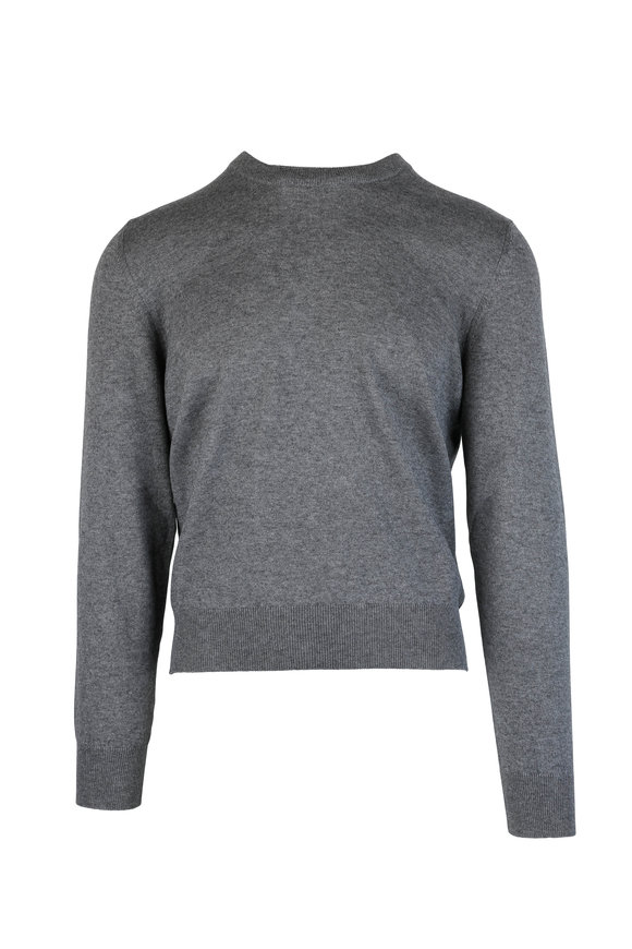Maison Margiela Gray Wool Blend Sweater