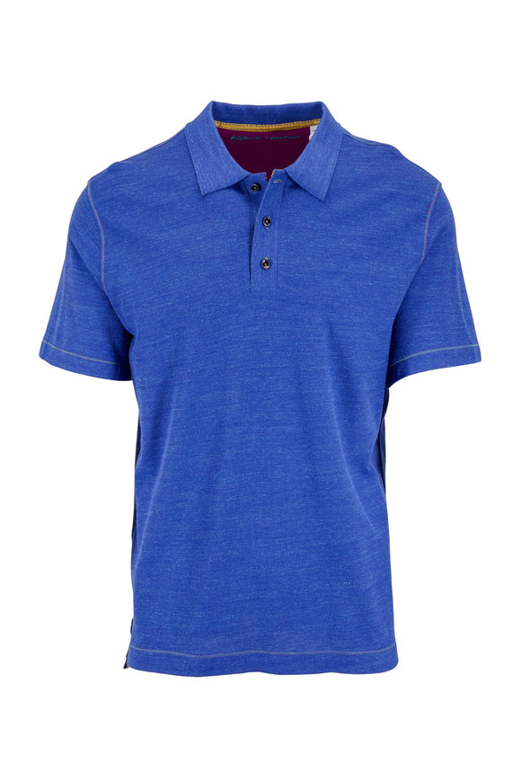 Robert Graham Navy Blue Classic Fit Polo