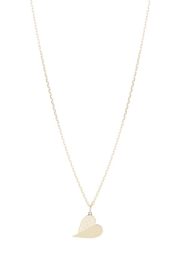 Genevieve Lau 14K Yellow Gold & Diamond Pendant Necklace