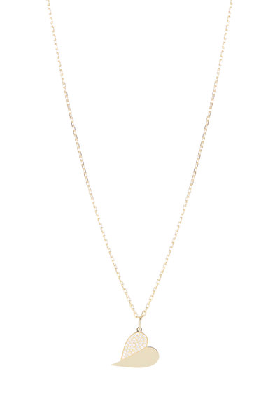 Genevieve Lau - 14K Yellow Gold & Diamond Pendant Necklace