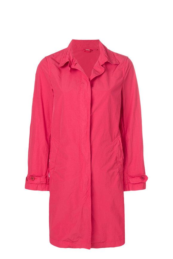 Aspesi Bright Red Trench Coat