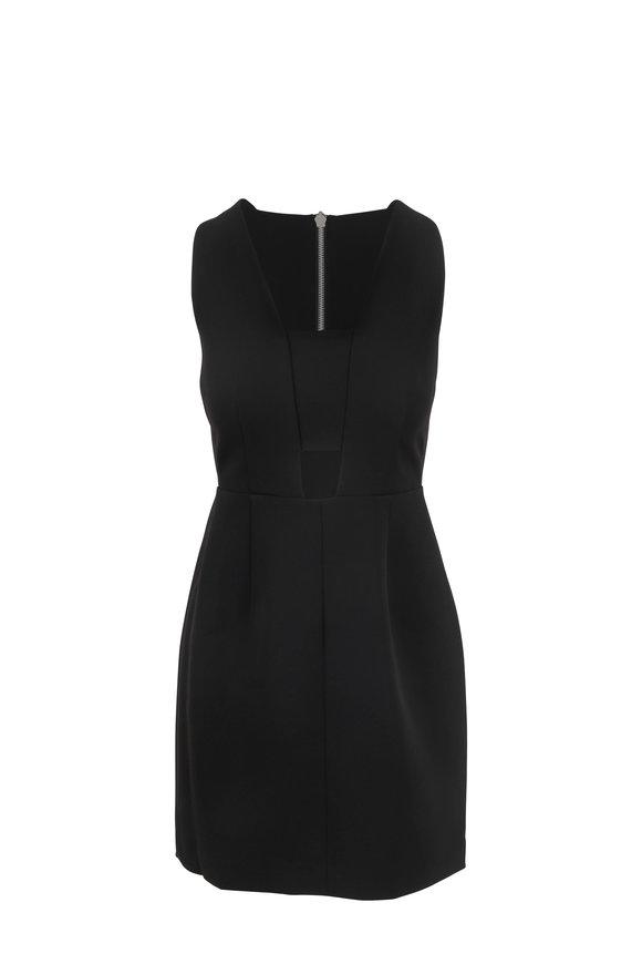 Rag & Bone Izzy Black Cut-Out Sleeveless Dress