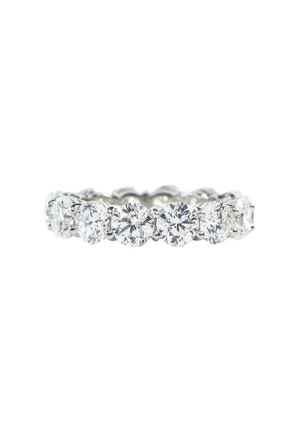 Oscar Heyman Platinum & Diamond Guard Ring