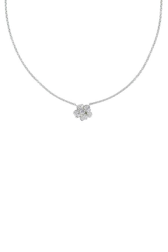Oscar Heyman Flower Diamond Necklace