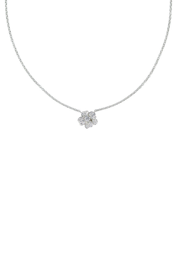 Oscar Heyman Flower Diamond Necklace