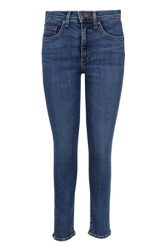Veronica Beard Kate Five Pocket Crop Jean