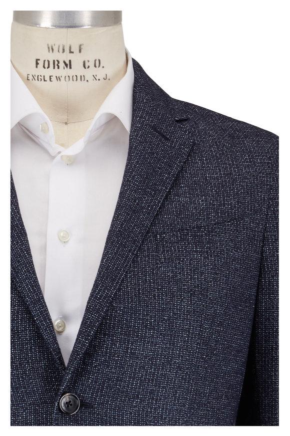 Ermenegildo Zegna Blue Textured Sportcoat