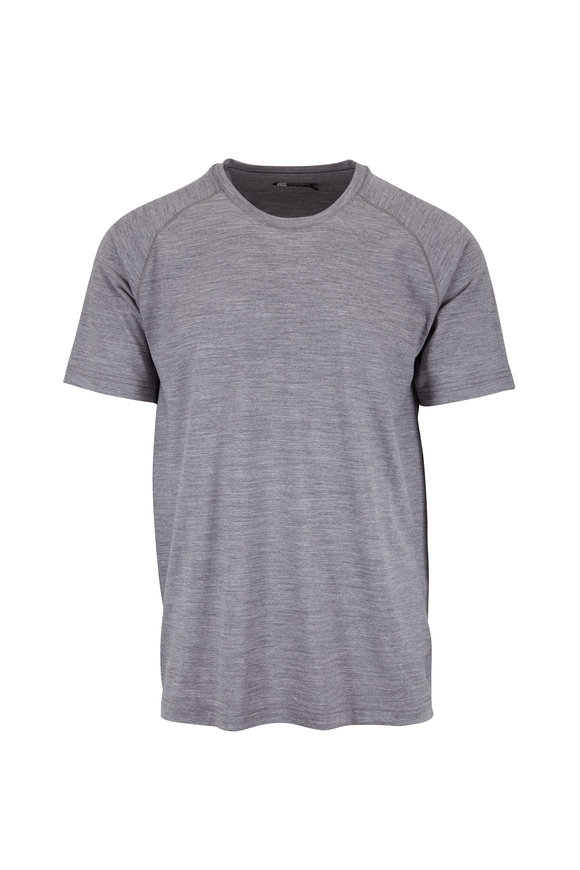 Z Zegna Gray Techmerino™ Performance T-Shirt
