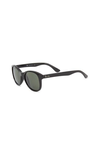 Ray Ban - Street Black Round Sunglasses