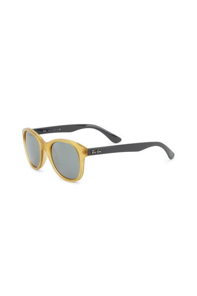 Ray Ban - Street Yellow & Gray Round Sunglasses