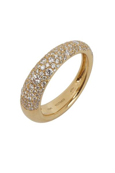 Kwiat - Cobblestone Yellow Gold Fancy Ring