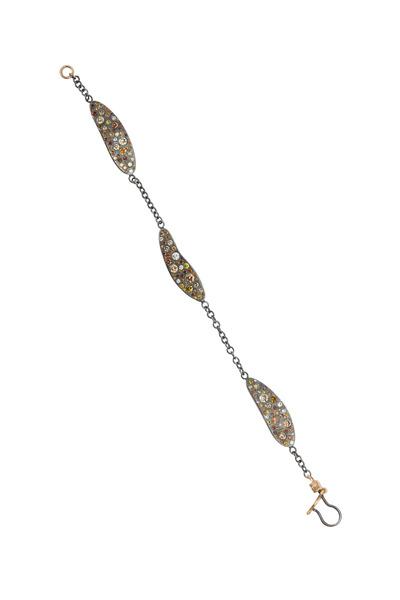 Todd Reed - Rose Gold Autumn Diamond Bracelet