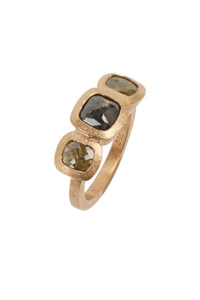 Todd Reed - Rose Gold Fancy Diamond Ring