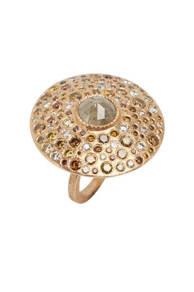 Todd Reed - Rose Gold Rose-Cut Diamond Ring