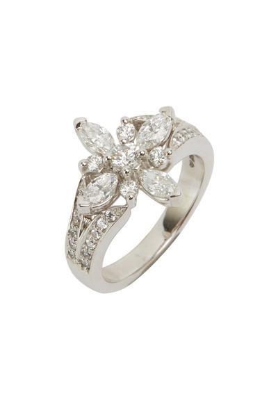 Kwiat - Star Platinum White Diamond Ring