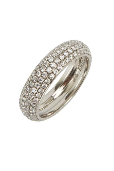 Kwiat - Platinum Diamond Eternity Ring