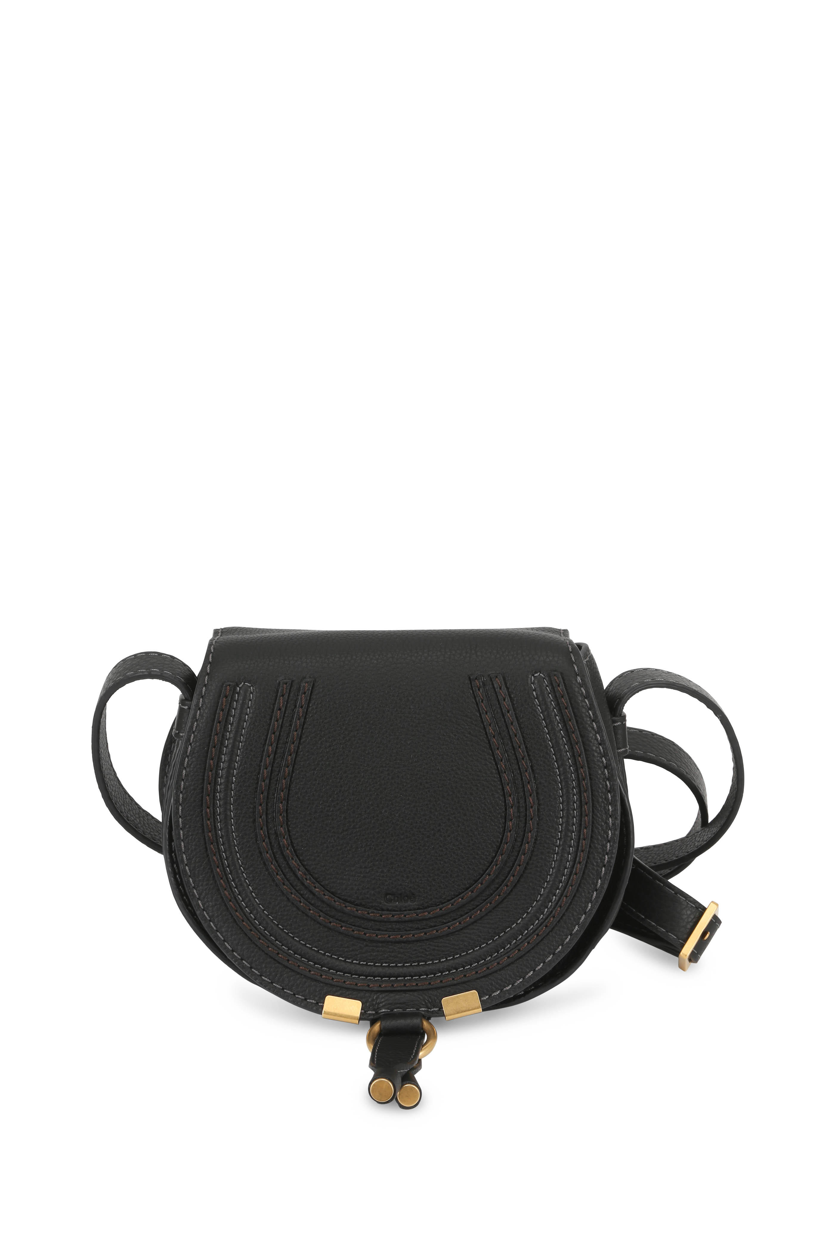 dd48928a73 Chloé - Marcie Black Leather Mini Crossbody | Mitchell Stores