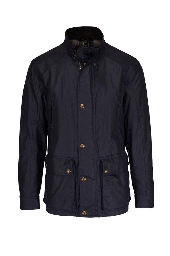 Belstaff New Tourmaster Dark Navy Waxed Cotton Jacket