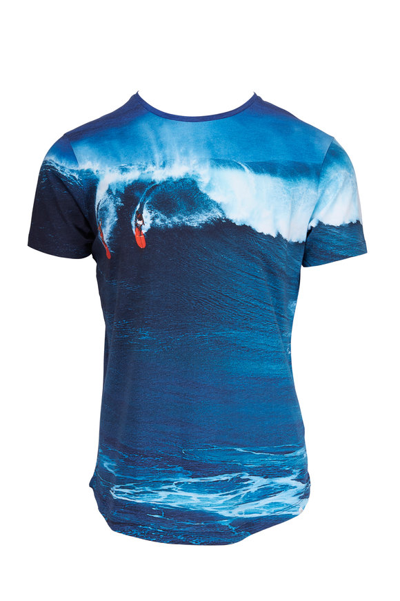 Orlebar Brown Dropping In Photographic T-Shirt