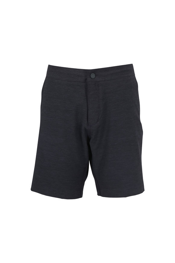 Faherty Brand All Day Charcoal Gray Shorts