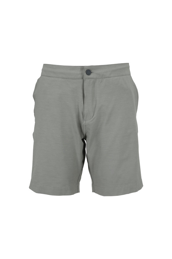 Faherty Brand All Day Olive Green Shorts